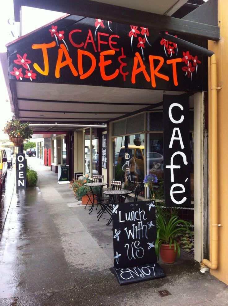 Revell street, Tektonic Jade, Hokitika, New Zealand