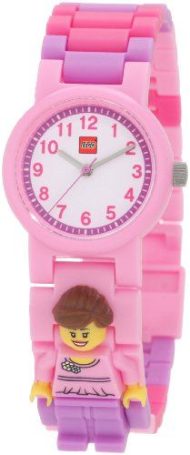Lego Kids' 9004360 Girl Minifigure Link Watch at http://suliaszone.com/lego-kids-9004360-girl-minifigure-link-watch/