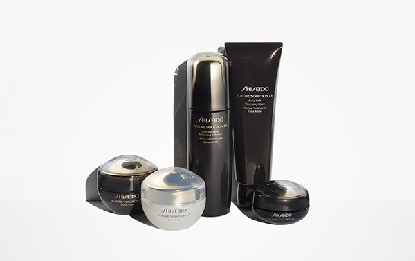 Cutting-edge Shiseido Future Solution LX has been reformulated for the future.