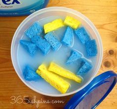s your totally doable 31 day plan to a clean home, cleaning tips, home decor, Day 1 Create your own reusable dryer sheets