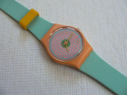 1986 Swatch...adore! I had this one!!
