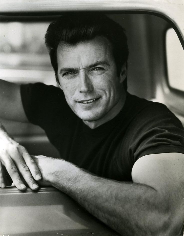 Clint Eastwood (1930- Clint Eastwood was drafted during the Korean War; he was stationed at Ford Ord in California, where he became a lifeguard and a life saving and swimming instructor. His skills got him promoted to corporal.