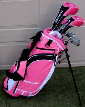 Golf Clubs - New Ladies Complete Golf Club Set for Petite � Store Break #golf #club #golfing by jannyshere
