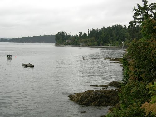 View of Seabreeze Pt. from W. Saanich Rd. | Sidney by the Sea