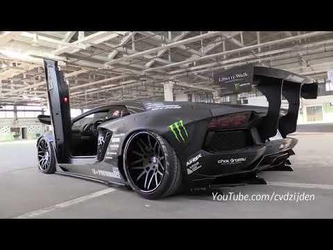 Cars That Start With W >> Liberty Walk Lamborghini Aventador W Fi Exhaust Start Revs