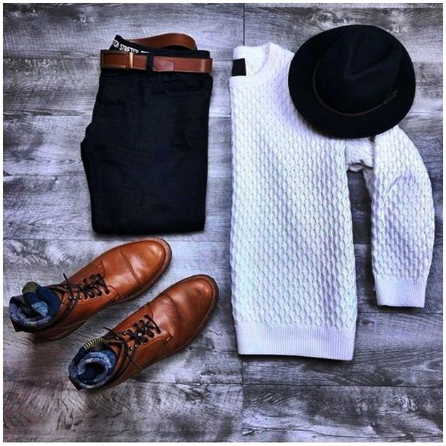 Designer is gaining more and more popularity with time and soon men will catch up with women both on. Big Men Fashion, Mens Fashion Week, Fashion Boots, Sneakers Fashion, Fashion Outfits, Men's Fashion, Cool Outfits For Men, Winter Outfits Men, Dope Outfits