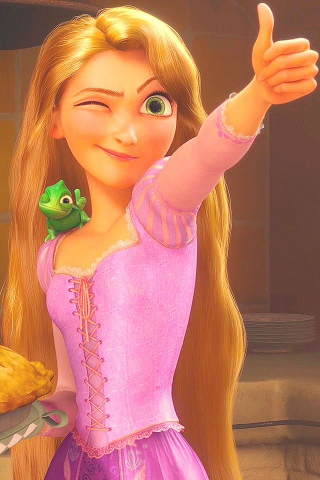 Good job! Hint: look at pascle have you ever noticed he does a lot of the same actions as rapunzel in the movie?
