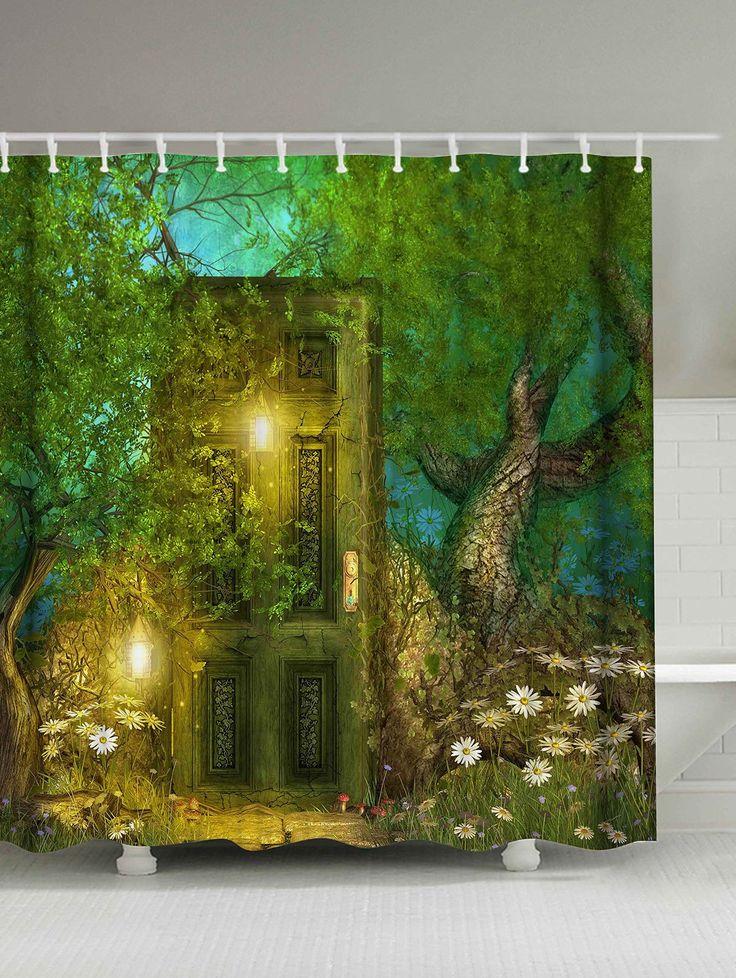 25 Best Ideas About Green Shower Curtains On Pinterest