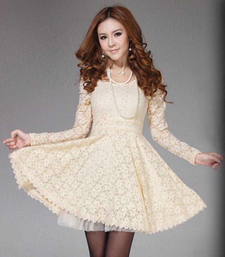zapatillas de skate buena calidad Tienda online Los mejores modelos de vestidos color Beige ¡Para el día y ...