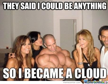 I always wanted to be a cloud..: Clouds, Giggle, Funny Stuff, Funnies, Humor, Things, Smile