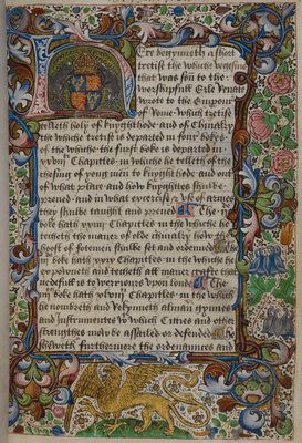 Royal arms of Richard III by Anonymous - print