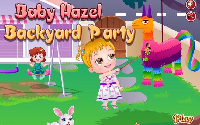 تسالى بيبي هازل   Backyard party games, Baby hazel ...