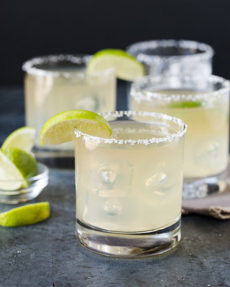 Sometimes a classic is best. This 4 ingredient Golden Margarita recipe is easy to make at home and the perfect batch cocktail for parties!