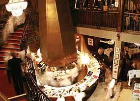 Queue De Cheval Steak House, Montreal Canada  Rate: US $85/dine/person  The Top Menu of the Restaurant is a corn-fed beef. The beef is taken after it was dried 35 days. The weight is 24 ounces and it is accompanied with a bottle of Californian or Australian wine. You pick it.