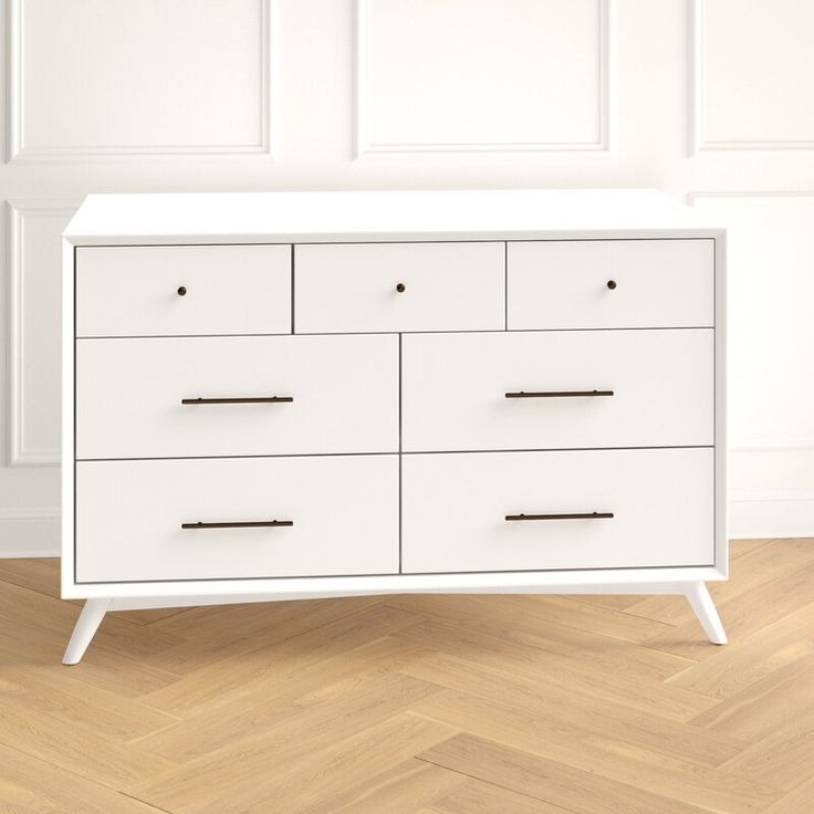 Joss And Main Somerton 7 Drawer Dresser | 7 drawer dresser ...