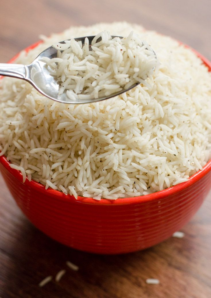 Perfect Basmati Rice!  No more mushy rice with this technique!  The Spice Kit Recipes (www.thespicekitrecipes.com)