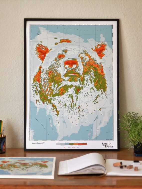 Ursidae  Land of the Bear by DauDaw on Etsy