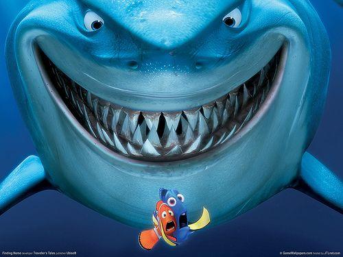 Nemo: Film, Findingnemo, Watch, Favorite Movies, No 2003, Shark, Finding Nemo, Disney Movie