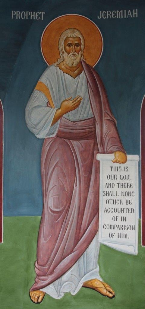 St. Prophet Jeremiah