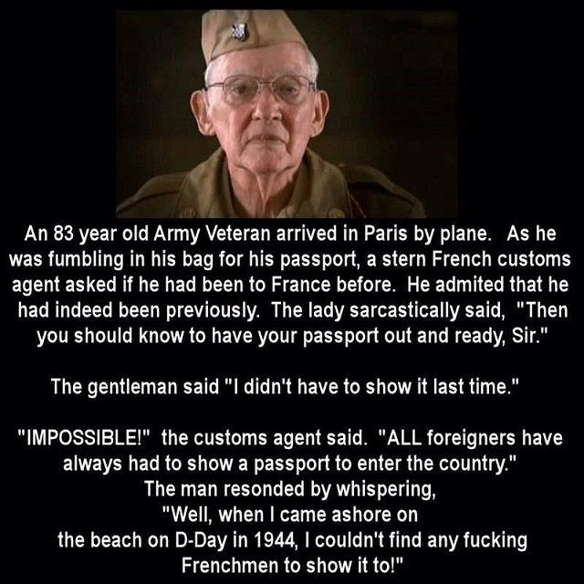 TREAT ELDERS WITH RESPECT: This amazing WWII veteran puts a rude French  customs agent in her place, EPICALLY