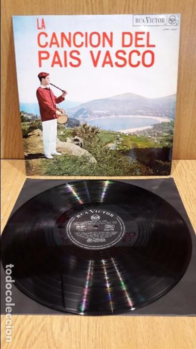 LA CANCIÓN DEL PAÍS VASCO. REVEIL BASCO-BEARNAIS. LP / RCA-VICTOR - 1967 / LUJO. ****/****