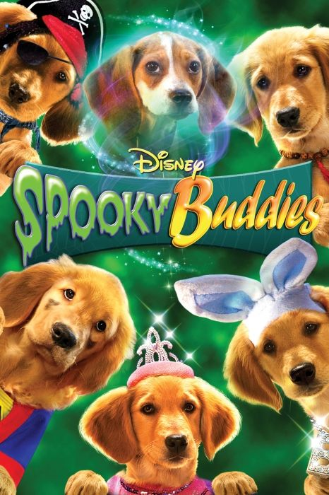 Spooky Buddies Movie Poster - Harland Williams, Rance Howard, Pat Finn  #SpookyBuddies, #MoviePoster, #KidsFamily, #RobertVince, #HarlandWilliams, #PatFinn, #RanceHoward