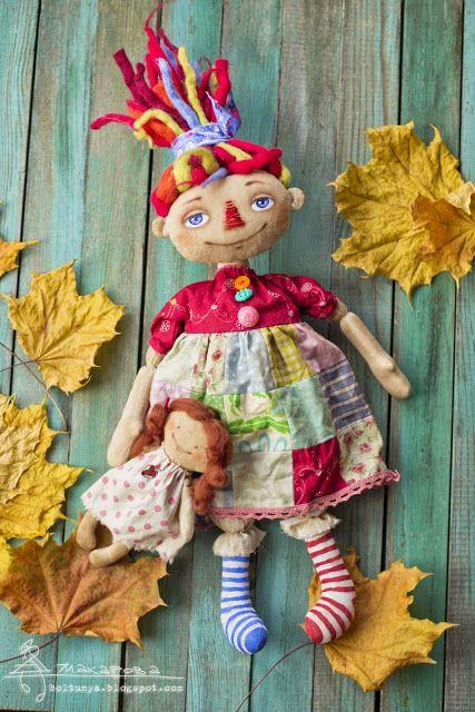 Болтунья: куклы