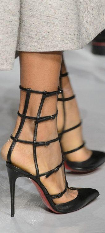 Burberry Black Heels Size 365 Uk 35 Classy!
