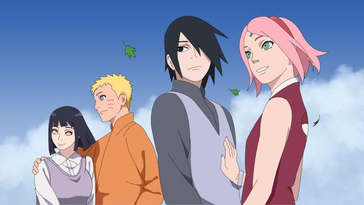 Naruto Hinata- Sasuke Sakura by Nohealsfoyou