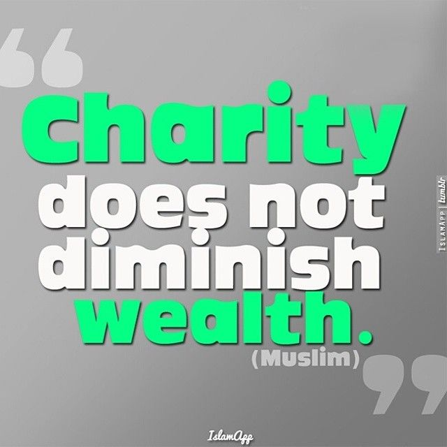 What Exactly Do Muslim's Get Out Of Helping Others?