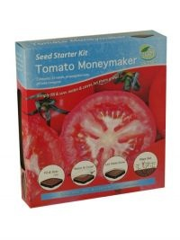£1.00  - G Plants Seed Starter Kit Tomato Moneymaker  Simply fill and sow, water and cover, let them grow!  Sow January to May, harvest May to September.  The propagator kit contains everything you need to grow these specially selected plants from seed.  The kit will give the plants an extra boost during the early stages of germination.