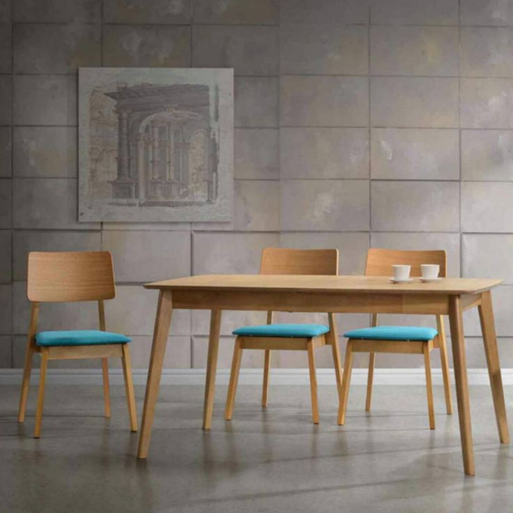 Visby extendable dining set