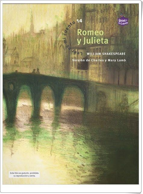 """""""Romeo y Julieta"""" de William Shakespeare (Versión breve y narrativa de Charles y Mary Lamb)"""