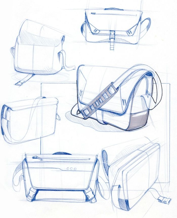 Messenger bag Sketchy by Greg Caneer at Coroflot.com