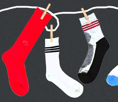 Pick the right athletic socks! (aka, the case against cotton)