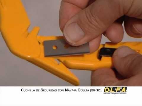 SK-10 Cuchillo de máxima seguridad para Envolturas y Cintas