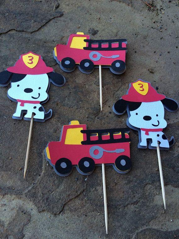 Best 25 Fire Truck Cupcakes Ideas On Pinterest Fireman
