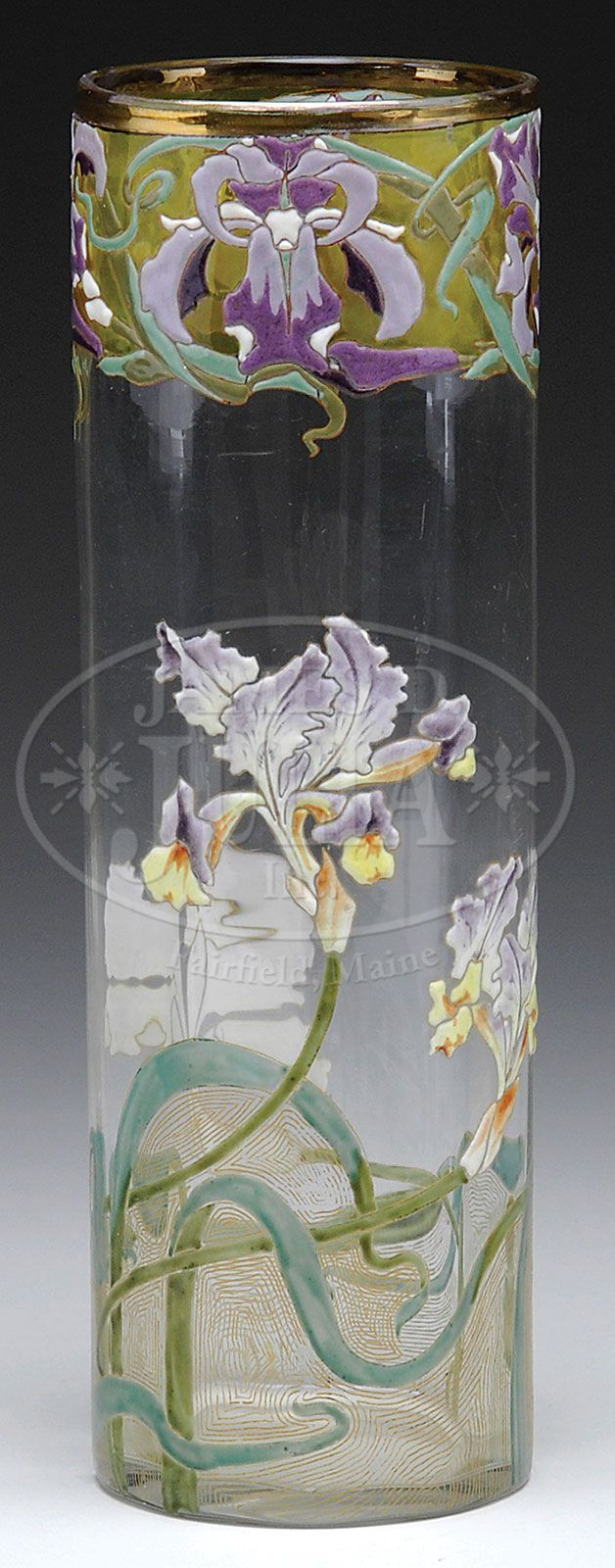 498 best moser glass images on pinterest crystals antique glass moser glass vase with iris reviewsmspy