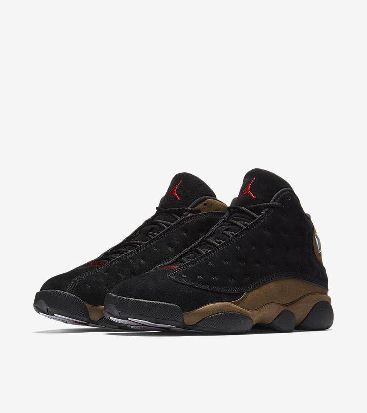 Air Jordan XIII (13) Retro 'Black & Olive'    -Release Date: Saturday, January 20th 2018    -Price: $190