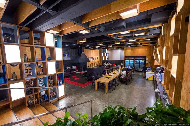 Американские офисы Google, Twitter, Evernote и Airbnb в фоторепортаже Ильи Варламова