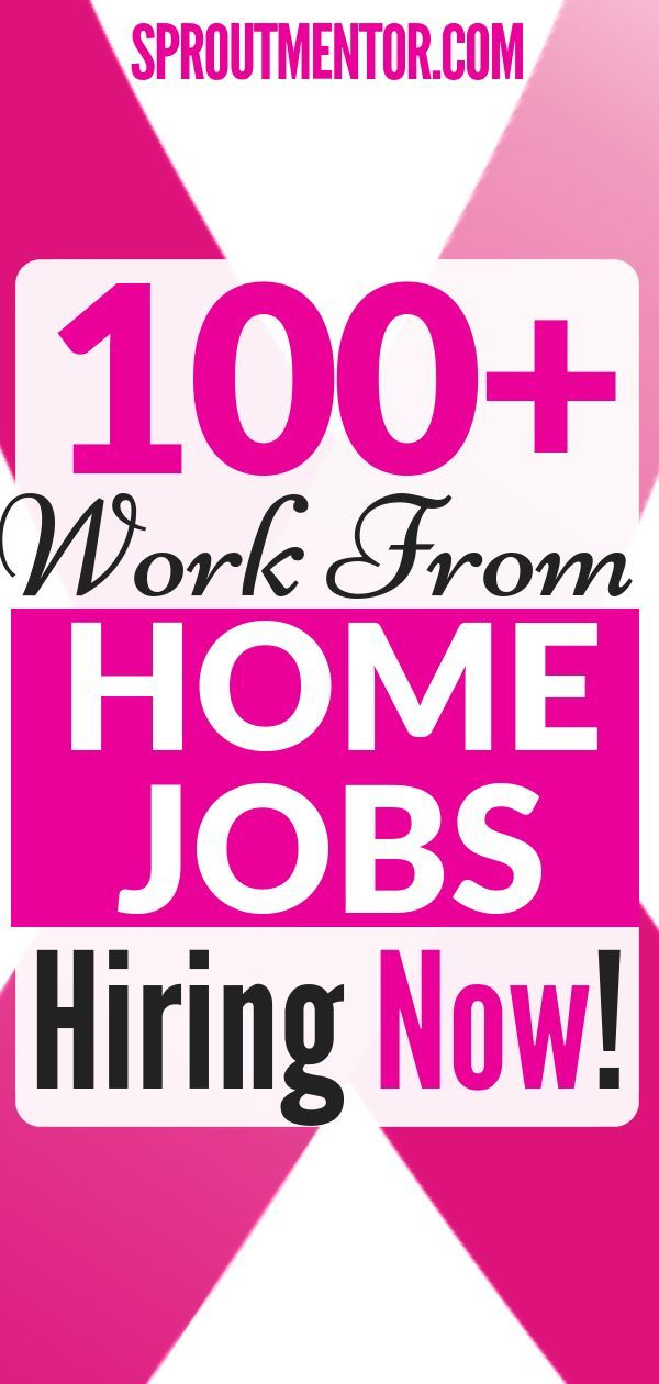 Looking for a work from home job? This page is upd…