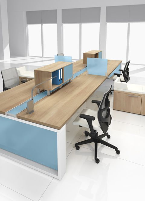 Great Create The Perfect Modern Workstations For Your Companyu0027s Talent With Modular  Office Furniture And Adjustable Height Benching Systems That Are Well  Designed ... Awesome Design