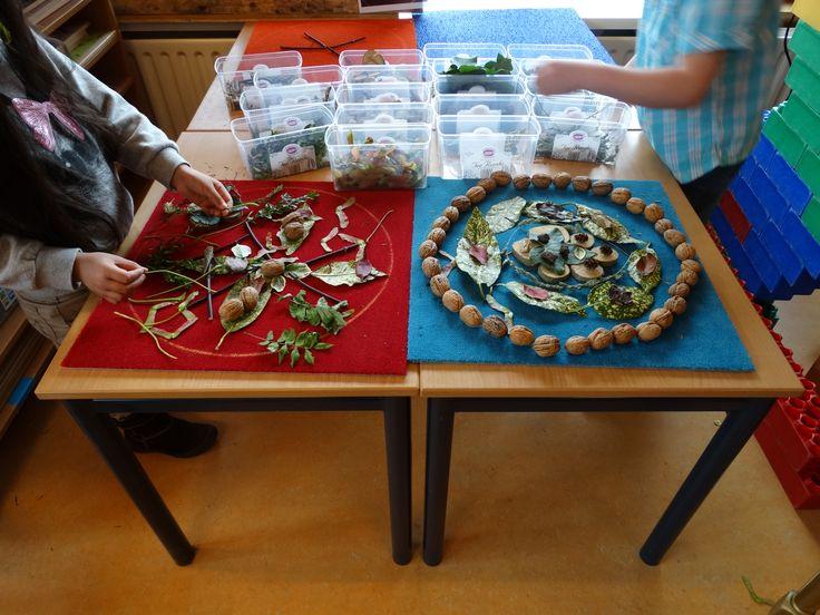 Mandala's gemaakt door kleuters. Voor meer resultaten en inspiratie > http://photopeach.com/album/5yyun3