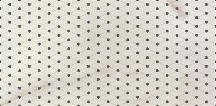 Decor faianta alb negru Carrara inserto classic 30×60 Opoczno  Model decor faianta alb negru Carrara inserto classic 30×60. Colectia Carrara Opoczno cuprinde cateva modele de gresie si faianta mata si lucioasa cu aspect de marmura de Carrara, mozaic si placi decorative cu aspect de marmura, in nuante de alb gri. #decorfaianta #decoralbnegru #decorbaiealbnegru
