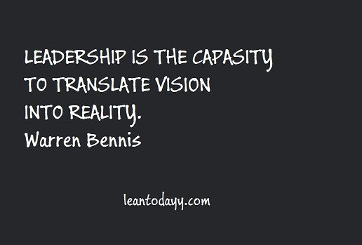 Translate vision into reality ...
