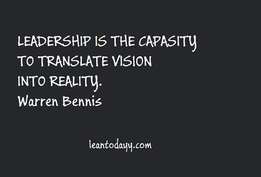 Translate vision into reality ...
