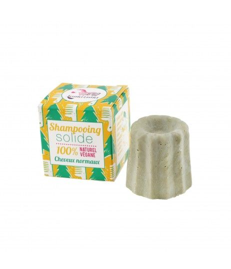 SHAMPOOING SOLIDE CHEVEUX NORMAUX AU SAPIN ARGENTE
