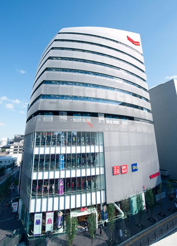 """YANMAR FLYING-Y BUILDING"" Named by Kashiwa Sato 