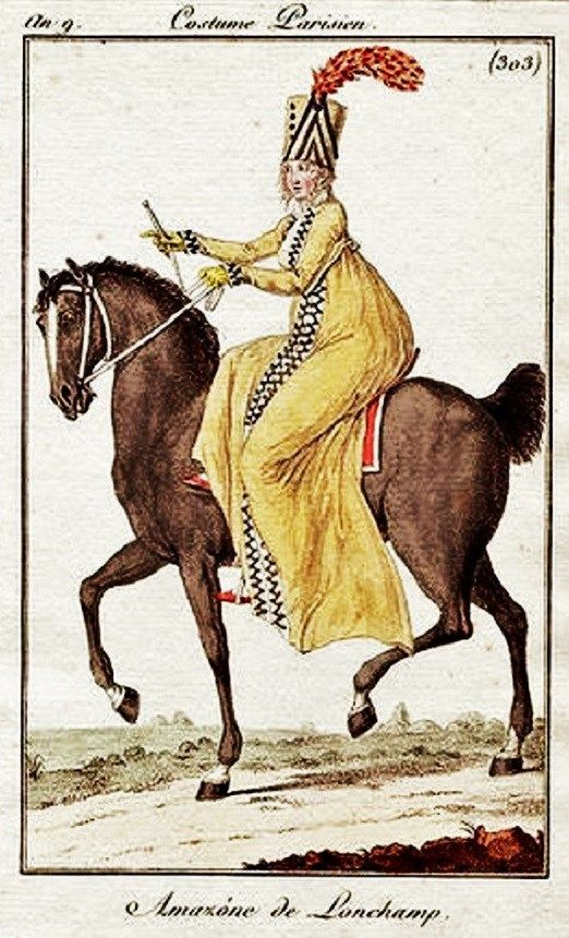 A divine riding outfit from the Directoire period