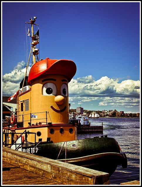 Theodore Tugboat Halifax, Nova Scotia, Summer 2007  https://www.pinterest.com/midislandgirl/everything-nautical/